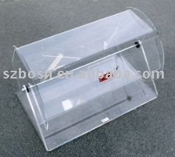 Acrylic Raffle Drum, Plexiglass Display Case, Perspex Lucky Draw Pail