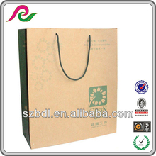 wholesale cheap boutique white paper shopping bags