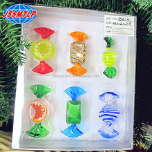 Hand-made fancy Sweet Fruits Hard Glass Candy