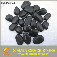 High Polished Flat River Stone Pebbles Cheap Landscape Stone