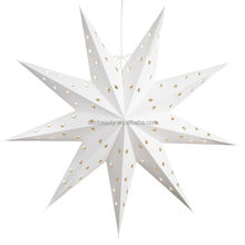 Indian Hot Selling Paper Star Lamp