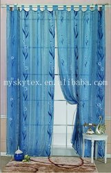 polyester organza curtain