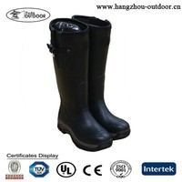 2015 New Style Rubber Hunting Boots with Neoprene Lining