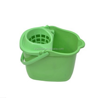 household mop plastic cleaning bucket