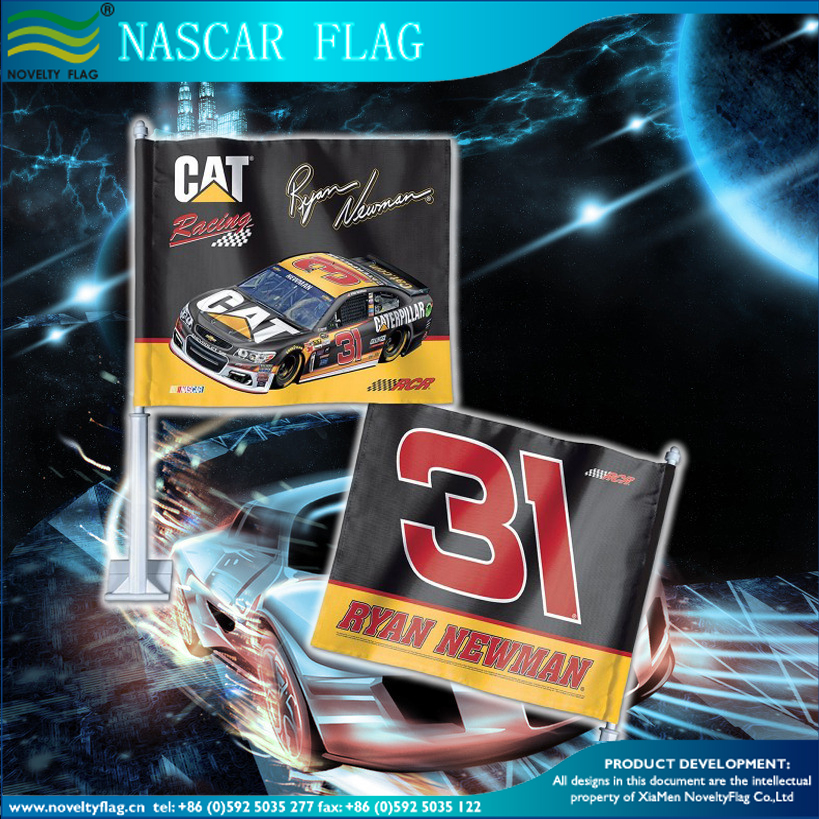 Ryan Newman Flags house Ryan Newman nascar flag Ryan Newman car window Flags for nascar