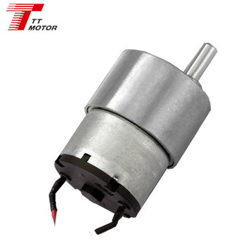 GM37-520TB 12v 5kg.cm rated torque dc motor low rpm geared motor