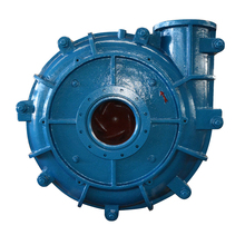 double casing single suction gold mining pump for tailing slurry