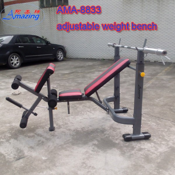 Weight Lifting Bench,Munifuction Weight Bench Deluxe weight lifting training weight Bench with preacher curl