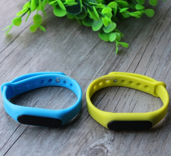 Bluetooth Programmable Bracelet Motion Sensor iBeacon With Rechargeable Battery