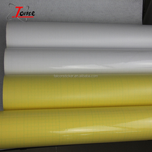 Self adhesive vinyl cold lamination film for raincoat and tablecloth , glossy cold laminating film