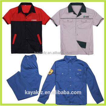 100 Cotton Two Tone Work Uniform Shirts Wholesale Buy
