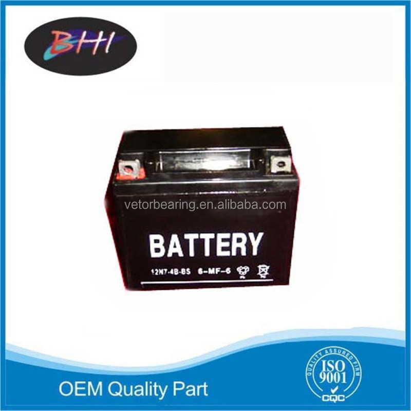 Oem quality dry cell motorcycle battery of all types