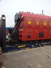 flat rack container coal/wood fired water (fire)tube steam boiler