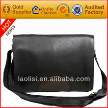 Newly desinger menssenger bags wholesale in full grain leather shoulder bag for men