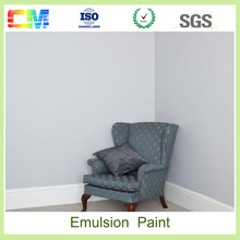 Fire proof water proof water based spray interior decoration wall latex emulsion paint