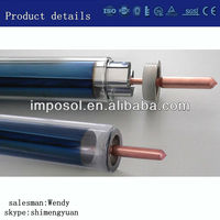 all glass solar vacuum tubes&heat pipe evacuated tubes