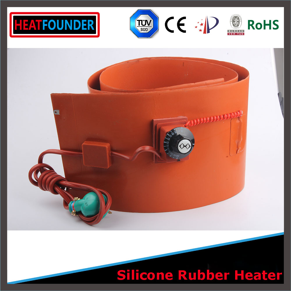Custom Designed Flexible Silicone Heater/Heating/Thermal Mat/Pad/Blanket/Element