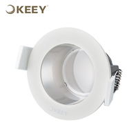 KEEY Adjustable Led Ceiling Downlight Fitting 5W Silver Deep Cup Quality Downlights QYR1-TD05256GN