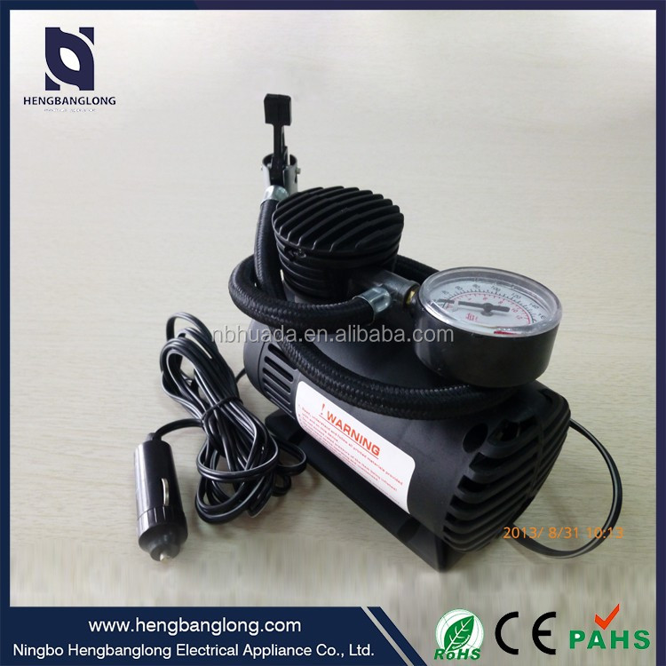 China supplier high quality car mini air compressor portable tire inflator
