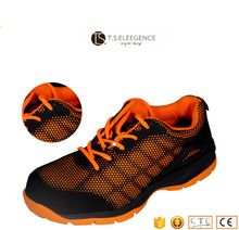 lady sport steel toe safety shoes with kevlar insole
