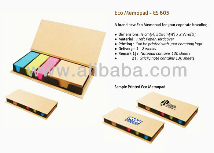 Eco Big Memo Box - ES 605
