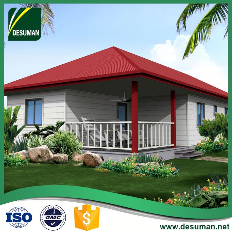 DESUMAN quality assurance SGS time and labor saving prefabricated log cabin