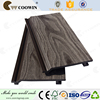 wood grain pvc panel wpc cladding 3d wall panel