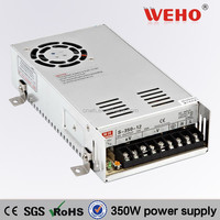 2 years guarantee 350W Single output 220vac 5vdc switching power supply