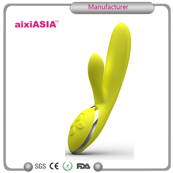 Soft Silicone Female Masturbation Massage Vibrator