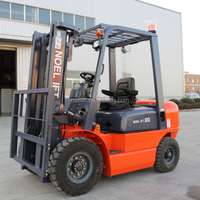 low emissions and fuel consumption FD 2ton diesel forklift truck specification with CE