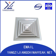 Aluminum alloy/stainless steel air diffuser for air conditioner