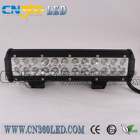 "12"" 72w 4x4 led light bar led driving bar light for SUV with factory price!"