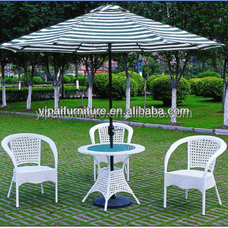 outdoor aluminum rattan beach summer patio lounge chairs set(YPS005)
