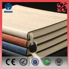 Recycled Customized PU Leather Diary Book/ PU Leather Notebook