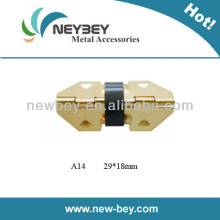 Color Zinc Plated Concealed Metal Hinges for Jewellery Box A14 in 29*18mm