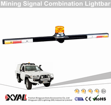 High Quality Backup Alarm Drving Reverse Brake Free Combination LED Mining Truck Warning Light Bar
