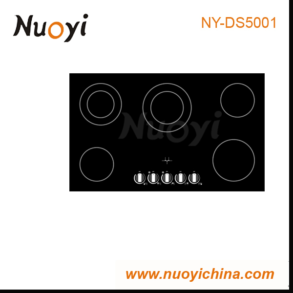 ceramic electric cooktop,toaster oven,round range hood