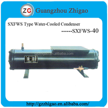 40HP Shell and Tube Water Cooled Condenser SXFWS-40 for Water Cooled Condensing Unit