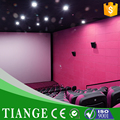 Polyester fiber fabric acoustical ceiling paenl in cinema hot sale cinema wall panel