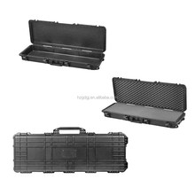 GD6063 Watertight Plastic Trolley Gun Case with Foam and Wheels