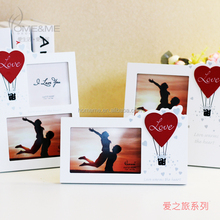 lover gifts wooden photo frame with love accessories