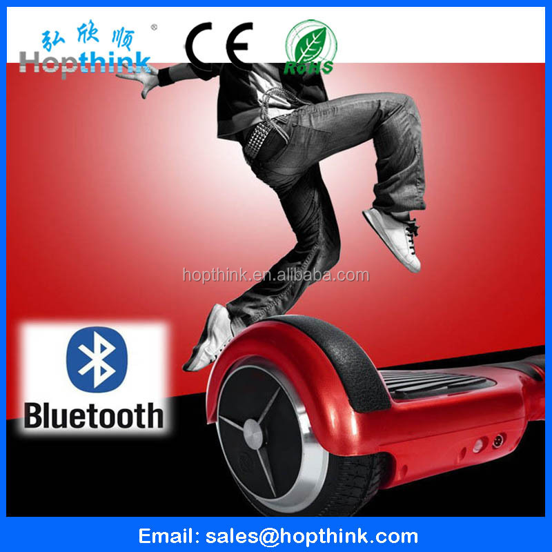 2015 Extreme outdoor sports stand up electric scooter smart balance board 2 wheel electric standing scooter