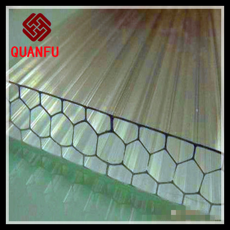 10-year Warranty Solar Polycarbonate Corrugated Sheet perfect for greenhouse plant (Pearly RED series)