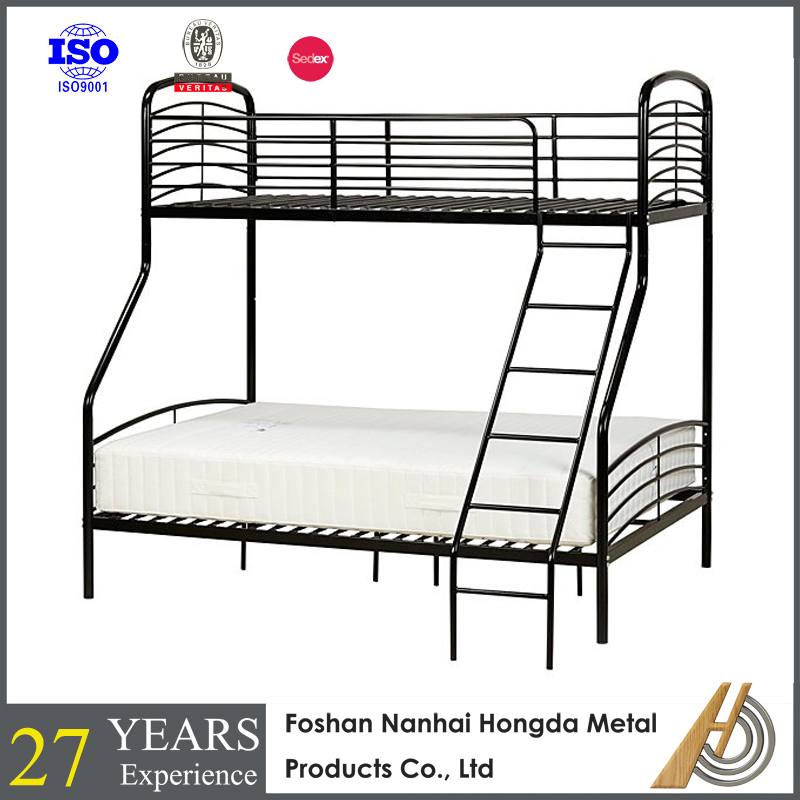 folding sofa cum bunk bed designs Twin over Twin Convertible Metal Bunks
