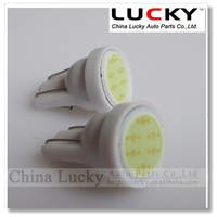 Auto led bulb T10 W5W 6 chips COB car light LED