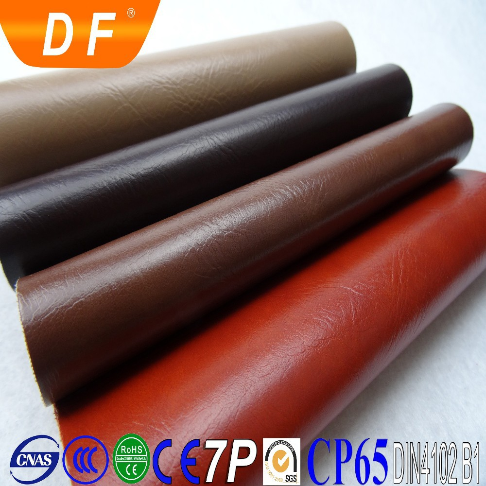 The most popular marine pvc synthetic leather for sofa upholstery car seat pvc leather
