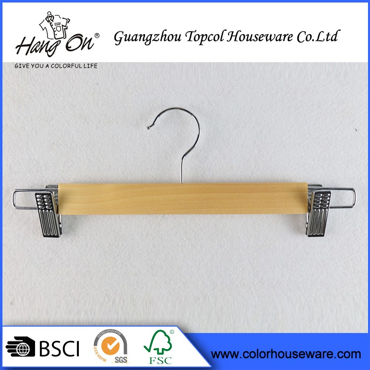 Popular design Anti-Slip Wood Hanger For Wedding Dress