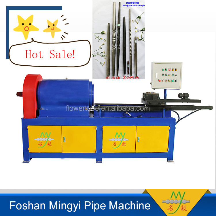 foshan alibaba furniture manufacturing semi-Automatic tapper pipe end forming machine for small business