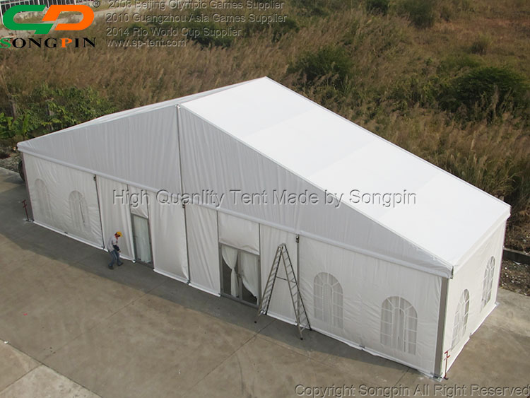 30x50m Luxury wedding party marquee tents for events for 1000 guests