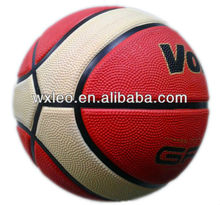 9 panels basketball,rubber vulcanized basketball,newest design basketball